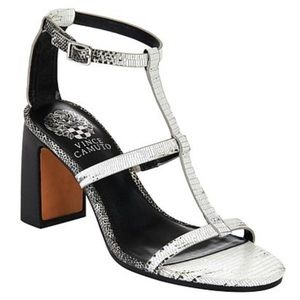Vince Camuto Balindah Leather Dress Sandal Heels